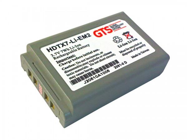 GTS® Akku für Casio DT-X7 / DT-X100 - 1900mAh