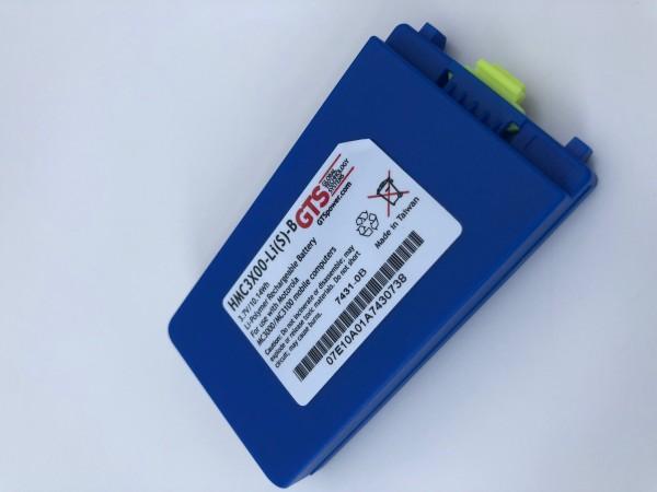 HMC3X00-Li(S)-B - Color Coded Standard Akku für MOTOROLA | SYMBOL MC3000 und MC3100 Serie - 2740mAh