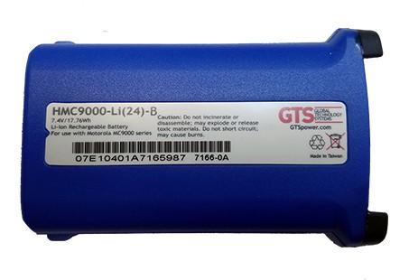 Color Coded Akku für ZEBRA MC9000 | MC9060 | MC9090 G&K Series - 2400mAh - BLUE